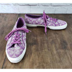 COACH KALYN Monogram Sneakers ~ Size 10B